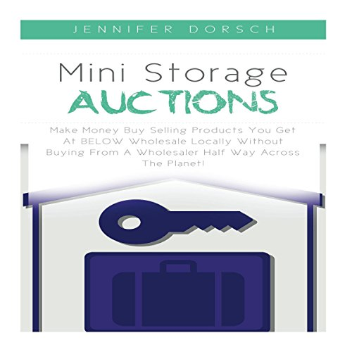 Mini Storage Auctions audiobook cover art
