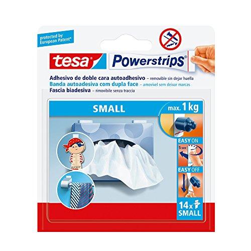 tesa-Powerstrips 58560–00000–0114ablösbar biadhesive Streifen, klein