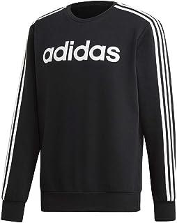 adidas Men's Essentials 3-stripes Fleece Crew Sweatshirt Crew Neck Sweatshirt