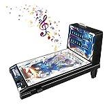VOCD Máquina De Pinball, Mini Pinball De Juguete para Niños, Juego De Pinball, Clásico Juego De Pinball Electrónico con Luces Y Sonidos, Fácil De Usar