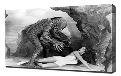 Adams, Julie (Creature From the Black Lagoon) 07 - Impresión En Lienzo