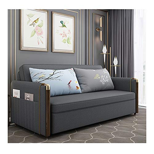 Price comparison product image DYYD Fouton Couches Futon Bed Comfortable Folding Sofa Bed,  Folding Mattress for Sleeper with Arm Chair,  Couch Beds for Living Room (Size : 79in)