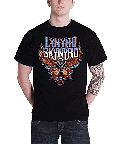 Lynyrd Skynyrd Crossed Guitars T-Shirt schwarz M