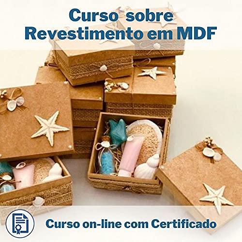 Curso Online em videoaula sobre Revestimento em MDF com Certificado + 2 brindes