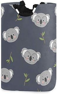 Mnsruu Grand seau à linge pliable Koala Panier à linge sale Panier à linge sale Panier à linge pour salle de bain Collage