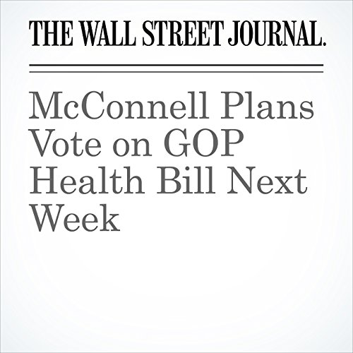 McConnell Plans Vote on GOP Health Bill Next Week copertina