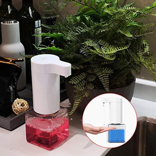 Eariy USB Ladegerät Seifenspender 250ML,Automatischer Seifenspender Mit Sensor, No Touch Seifenspende IPX7 Wasserdichtes