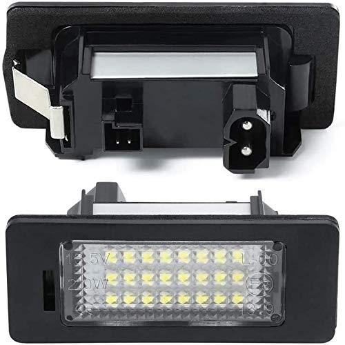 LED Kennzeichenbeleuchtung High Power Kennzeichenleuchte passend für X1 X3 X5 X6 1.3.5series(1set=2pcs)