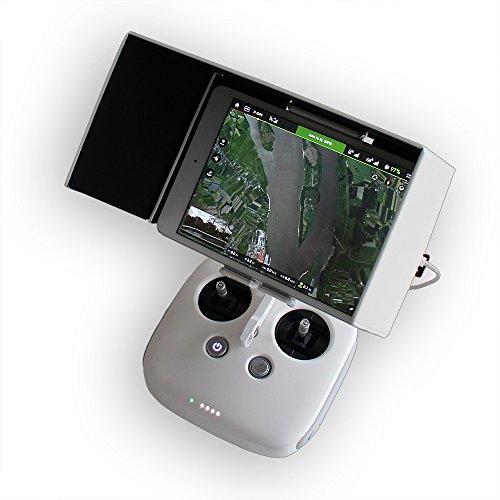 "8\"" Sonnenblende für DJI Phantom 3 / DJI Inspire 1 / iPad Mini / Tablet Sonnenschutz Blende N-FACTORY-DE"