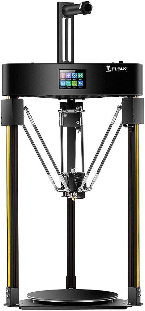 Stampante 3d  delta con sistema di livellamento automatico, touch screen, dimensioni di stampa 200x200 FLSUN-Q5-3D