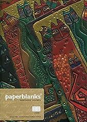Paperblanks Félins Fantastiques Carnet de note Ligné Midi Multicolore de Paperblanks
