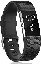 HUMENN Correa para Fitbit Charge 2, Edición Especial Deportes Recambio de Pulseras Ajustable Accesorios para Fitbit Charge 2 Grande Pequeño, 15 Colores