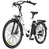 VIVI Bici Elettrica Ebike 350W Bicicletta Elettrica per Adulti 26'Bici Elettrica Cruiser/City bike...