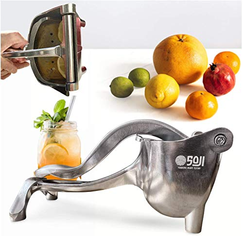 The Soji SuperBeast - Manual Hand Juicer and Fruit Press - Citrus Squeezer, and Pomegranate Juicer - Handheld Cocktail Juicer