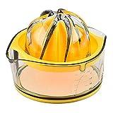 Kasmoire Citrus Orange Squeezer Manual Hand Juicer Lime Press Anti-Slip Reamer...