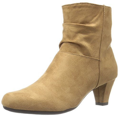 Aerosoles Women's Shore Fit Boot, Tan Fabric, 11 M US