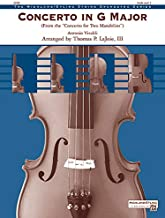 Concerto in G Major (from the <i>Concerto for Two Mandolins</i>) - Violin Solo or Section Feature - By Antonio Vivaldi / arr. Thomas P. LaJoie III - Conductor Score