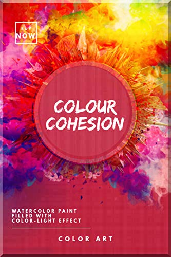 Color Cohesion Watercolor Paint Filled With Color-light Effect (English Edition)