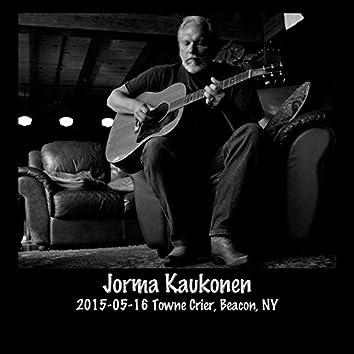2015-05-16 Towne Crier, Beacon, NY (Live)