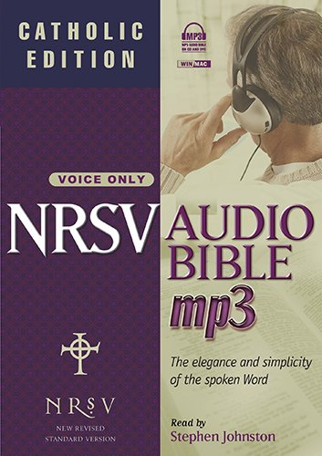 NRSV Audio Bible: Catholic Edition