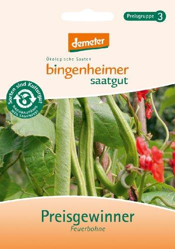 Bingenheimer Saatgut - Prunkbohne Feuerbohne Bohne Preisgewinner - Gemüse Saatgut / Samen