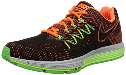 Nike Herren Air Zoom Vomero 10 Laufschuhe, Mehrfarbig (Total Orange/Black/Ghost Green/Voltage Green), 42.5 EU