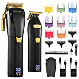 MOSMAOO Professional Cordless Hair Clippers...