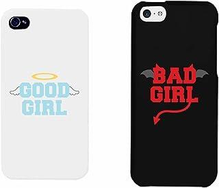 b9313d1a49e 365 impresión y Bad Girl Good Girl Negro y Blanco a juego con mejores  amigos teléfono