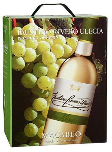 Faustino Rivero - Ulecia Macabeo Weißwein 11% Vol. - 5l Bag-in-Box