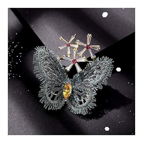 Kronleuchter Koreanisch Schmetterling brosche Europa und Amerika Dame Vintage Corsage Abzeichen einfachen Mantel Pullover Schnalle