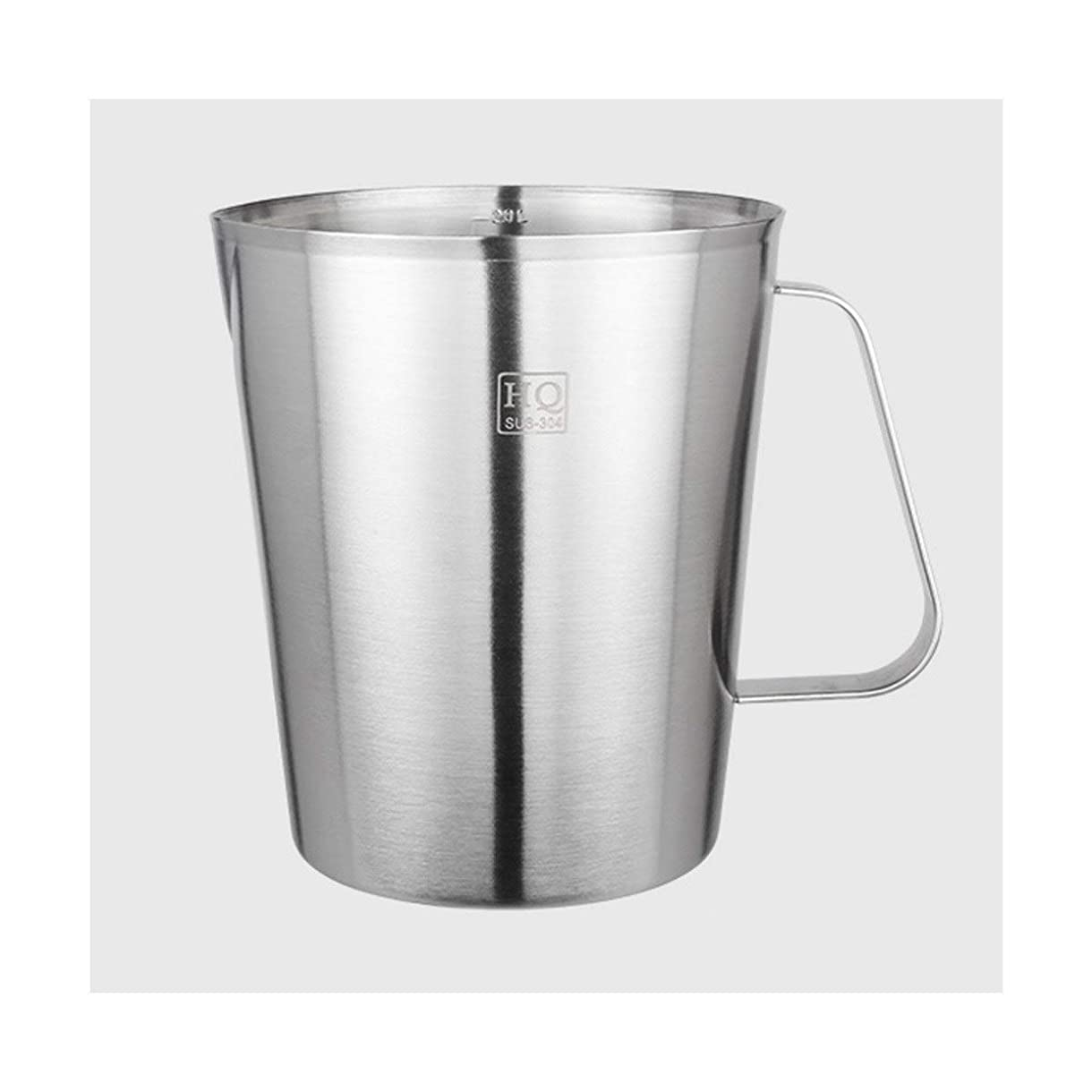 便利解凍する、雪解け、霜解け品LI FANG 304ステンレス計量カップ、スケールキッチン家庭用計量カップ付き (Size : 500 ml)