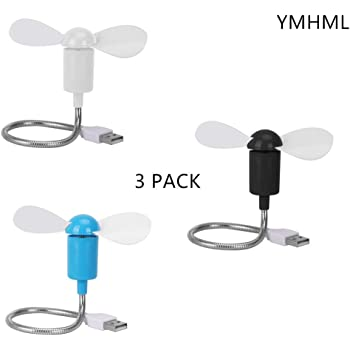 Mixneer Best Price Flexible USB Mini Cooling Fan Cooler for Laptop Desktop PC Computer Notebook