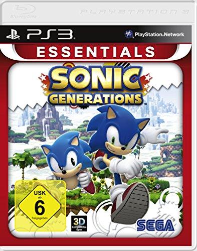 logiciel Pyramide PS3 Sonic Generations
