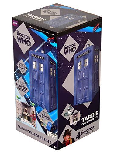 Doctor Who TARDIS collection Set avec K-9 Figure NOUVEAU Doctor Who TARDIS Collectible Set with K-9 Figure NEW