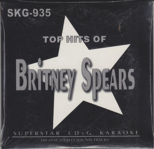 Britney Spears Greatest Hits Karaoke CD+G Superstar Sound Tracks (UK Import)
