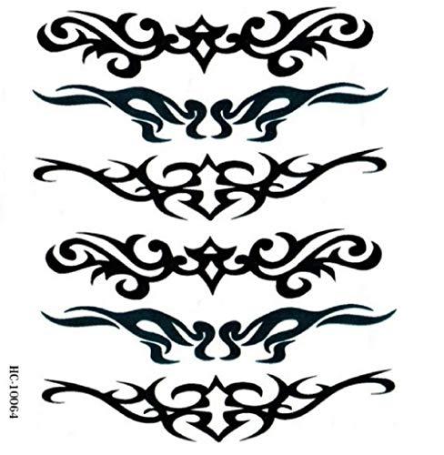 Temporäre Körperkunst Entfernbare Tattoo Aufkleber Tribal-Sticker Tattoo Temporary Tattoo - Cosmintra
