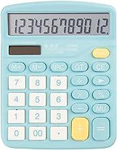 $25 » Calculators Calculator 12-Digit Desktop Basic Calculator Solar Battery Dual Power with Large LCD Display Office Calculator...