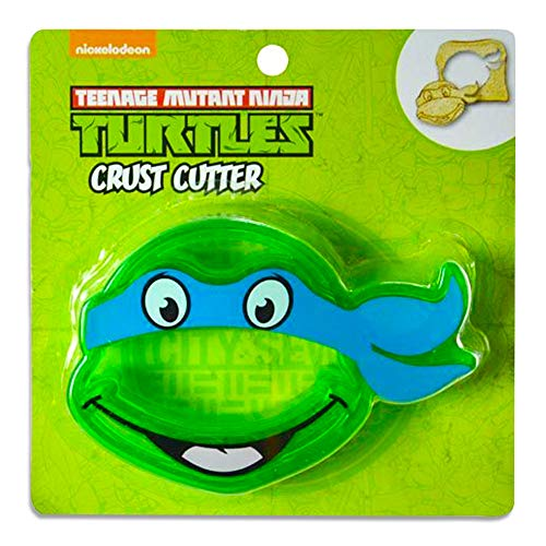1 X Teenage Mutant Ninja Turtles TMNT Sandwich Crust Cutter Decruster for School Lunch