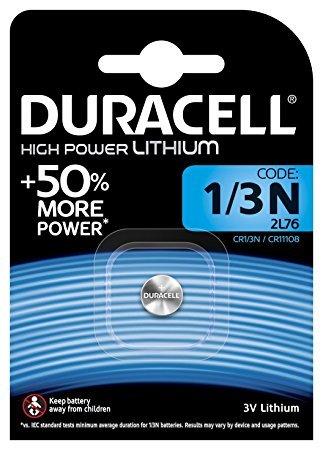 Duracell CR11108DL1/3N Photo batteria al litio CR1/2L76argento