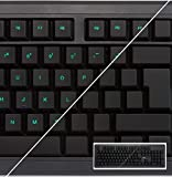 Learn to Touch Type Educational Computer Keyboard - Blank or Visible Keys - Keymaster Learning...