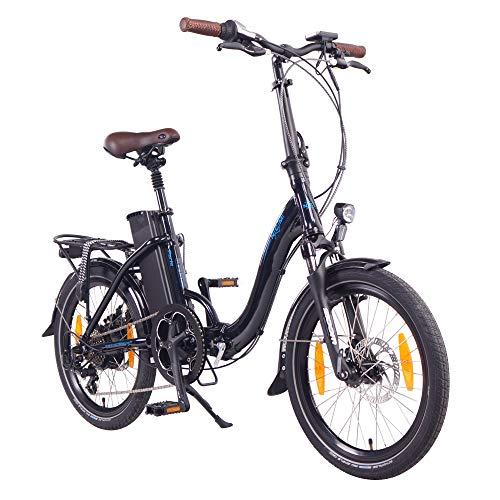 "NCM Paris 20"" Bicicletta elettrica Pieghevole, 36V 15Ah 540Wh Blu"