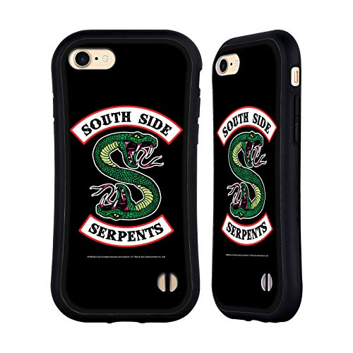 Official Riverdale South Side Serpents Graphic Art Hybrid Case Compatible for Apple iPhone 7 / iPhone 8 / iPhone SE 2020