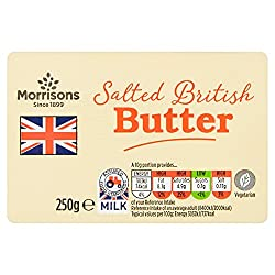 Morrisons Salted British Butter, 250g