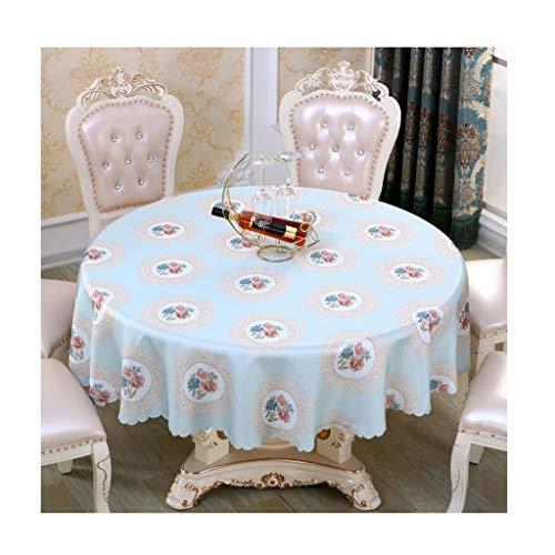 Yxx Max Klein rond tafelkleed in Scandinavische stijl, luxueuze salontafel van stof, voor huis, restaurant, hotel, banket, ronde tafelkleden