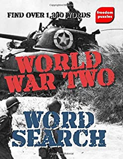 World War Two Word Search: WW2 Puzzle Book for History Fans