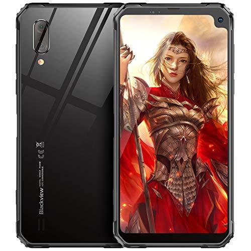 Blackview A60 Smartphone ohne Vertrag Günstig 15,49 cm (6,1 Zoll) HD+ Display, 4080mAh Akku, 13MP+5MP Dual Kamera, 16GB ROM, 128 GB erweiterbar Dual SIM Android Einsteiger Handy -Deutsche Version