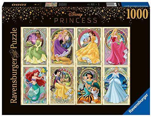Ravensburger Puzzle, Puzzles 1000 Piezas, Princesas Art Nouveau, Puzzle Disney, Princesas Disney, Puzzles para Adultos, Puzzle Ravensburger