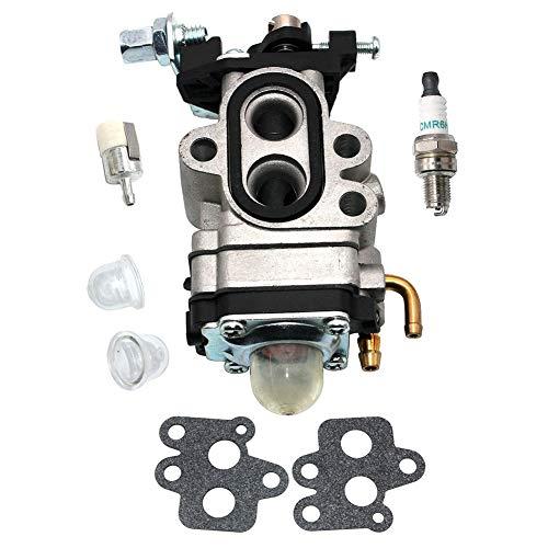 Yookai Carburador para John Deere BP40 BP40LE BP45LE BP50 BP50LE BP60 BP65LE Ventilador de Mochila Tipo A