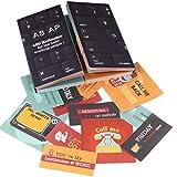 OfficeTree Lot de 400 notes autocollantes amusantes pour étudiants - Notes adhésives au design ASAP comme gadget de bureau - Funny Sticky Notes pour la gauche et la droite du livre