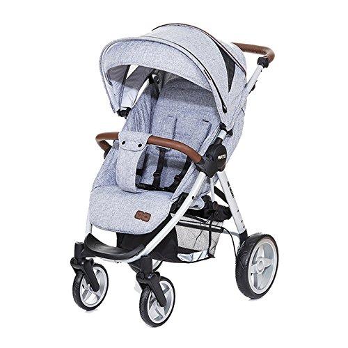 ABC Design 51075603Avito Stil Kinderwagen Sport, grau graphit